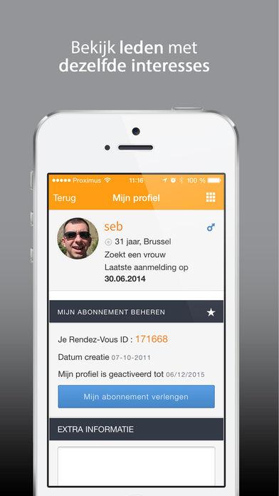 rendezvous dating site belgie fm Plaats of verstuur geen boodschappen op de site waarvan de inhoud auteursrechterlijk beschermd is plaats of verstuur geen boodschappen van commerciële aard.