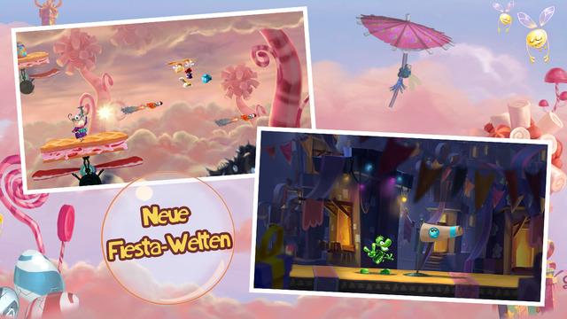 Rayman Fiesta Run iOS Spiel