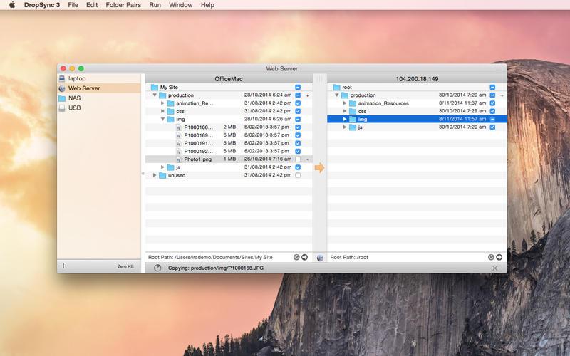 DropSync 3 Screenshot - 1