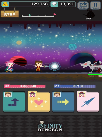 Infinity Dungeon Evolution Screenshot