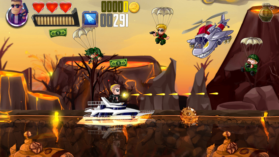 Ramboat: Helden mit Knarren iPhone iPad