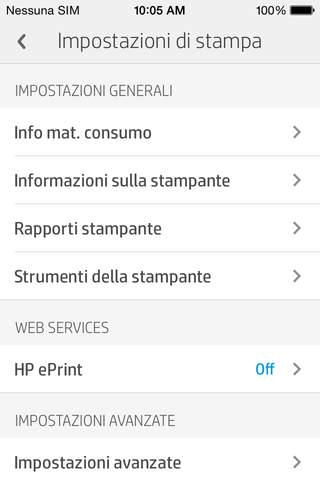 iPhone Schermata 5