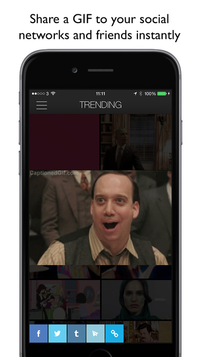 getGIF - browse, search and share GIFs Screenshot