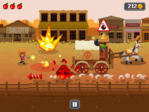 Wild Wild West iPhone iPad