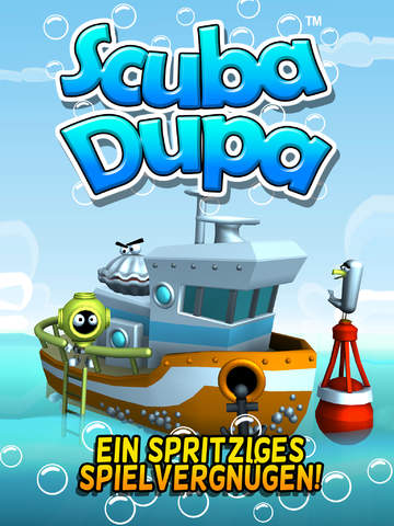 Scuba Dupa iOS Screenshots