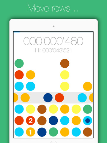 Colorbs - minimalistic puzzle matching game iOS Screenshots