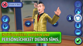 Die Sims 3 iOS Screenshots