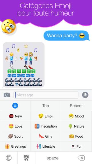 Emoji ensemble nouveau clavier couleur et emojis pour - Taille d une palette europe ...