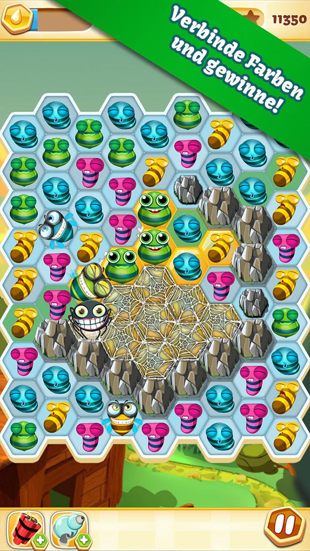 Bee Brilliant iOS Screenshots