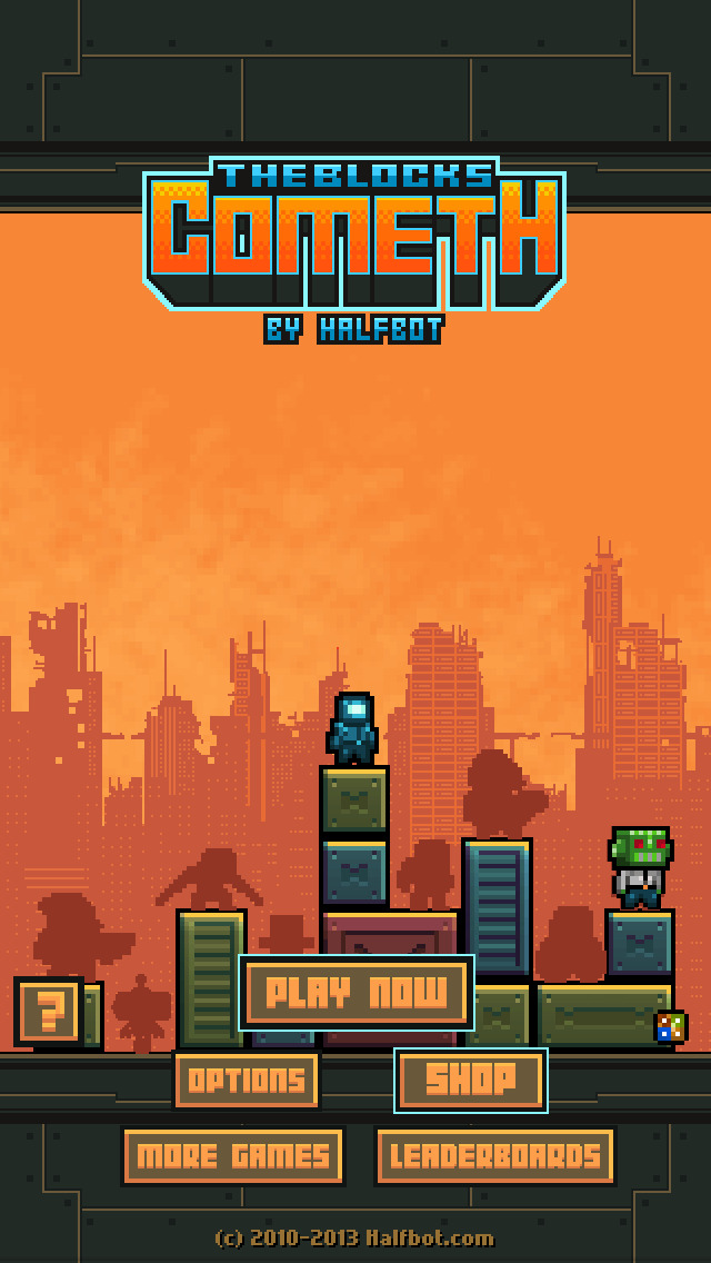 The Blocks Cometh Free iOS Screenshots