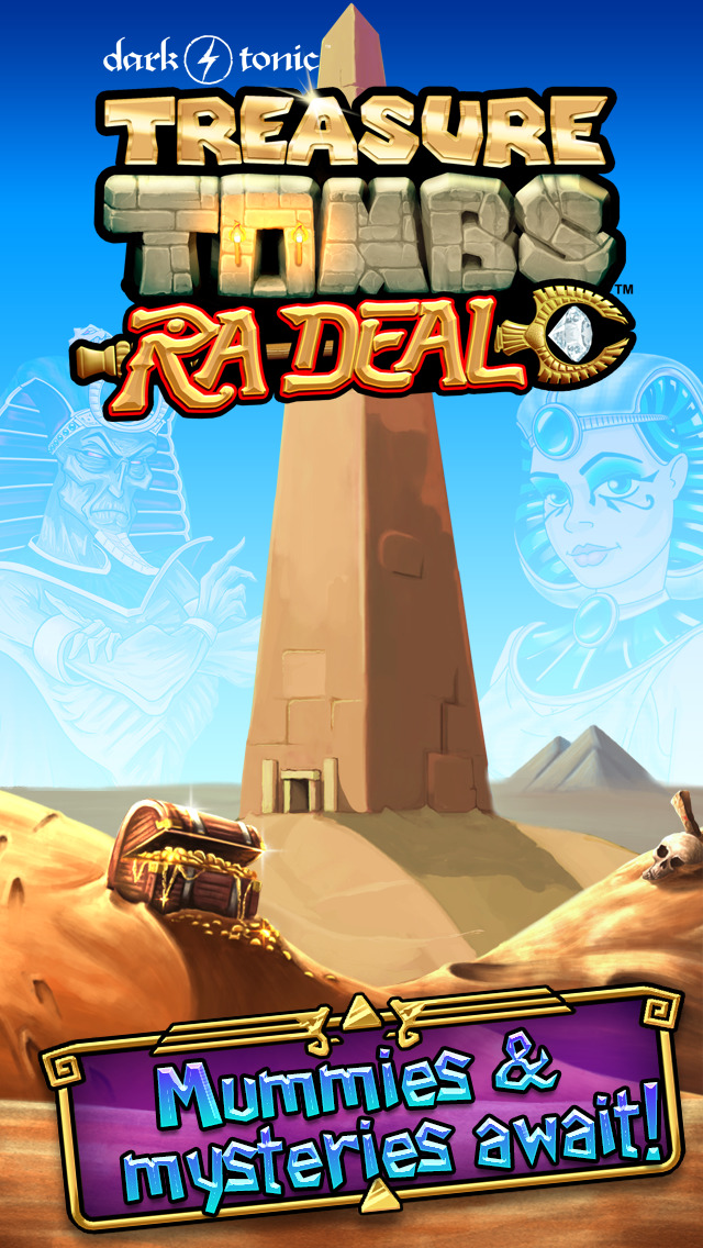 Treasure Tombs: Ra Deal iOS Screenshots