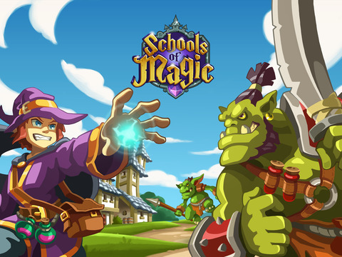 Schools of Magic iOS Screenshots