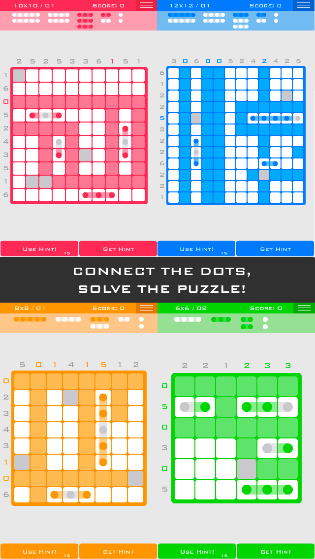 Logic Dots iOS Screenshots