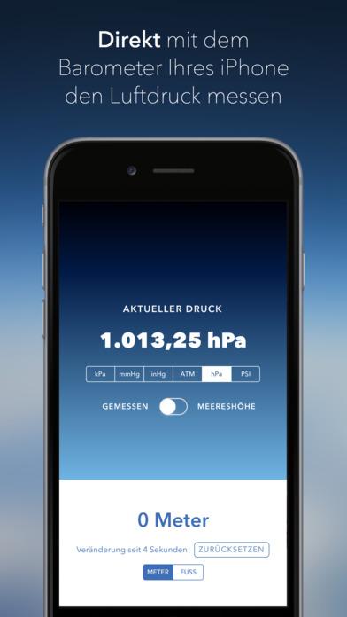Simple Barometer Screenshot