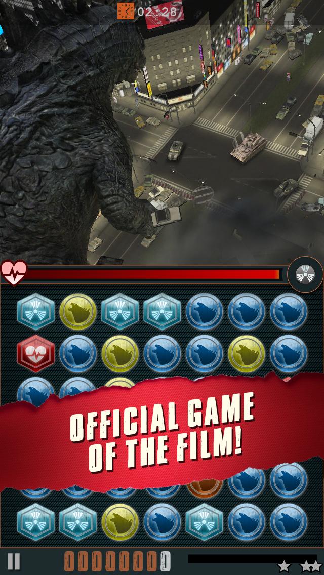 Godzilla - Smash3 iOS Screenshots