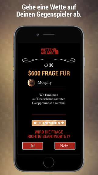 Wetten Mr.Moo – Quiz iOS