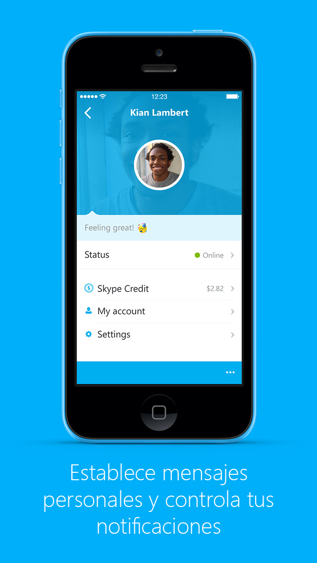Über skype flirten