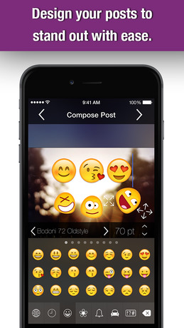 Stickers - Anonymous Pics & Emojis, Icons, Filters & New Emoticons Art Fonts App For Free iPhone app afbeelding 4