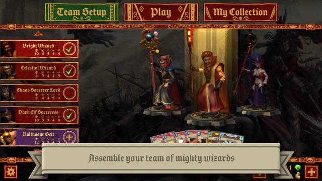 Warhammer: Arcane Magic Game iPhone iPad
