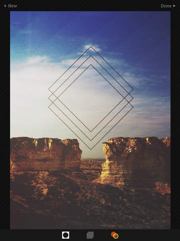 Tangent - Add Geometric Shape, Pattern, Texture, and Frame Overlays and Effects to Your Photos Screenshot