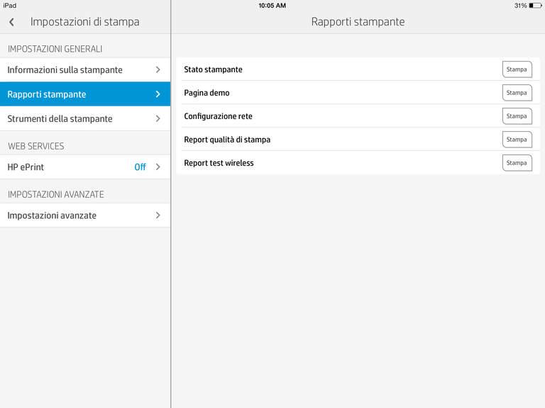 iPad Schermata 5