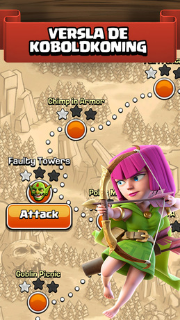 Clash of Clans iPhone app afbeelding 2