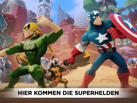 DISNEY INFINITY 2.0 TOYBOX: PLAY WITHOUT LIMITS iOS Screenshots