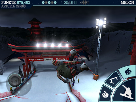 Snowboard Party iOS Screenshots