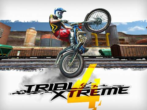 Trial Xtreme 4 iOS Screenshots