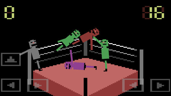 Wrassling iPhone iPad