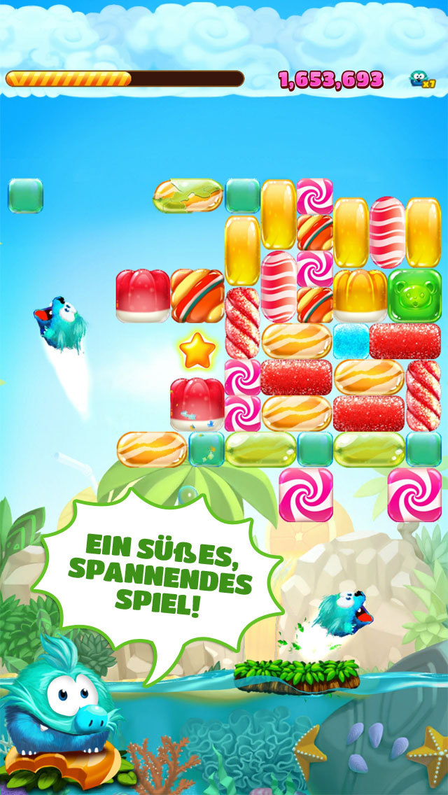Candy Block Breaker iOS Screenshots