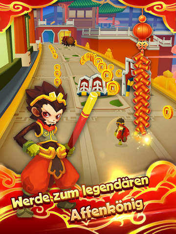 Monkey King Escape iPhone iPad