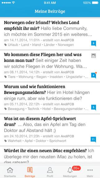 gutefrage.net - die Ratgeber-App iOS