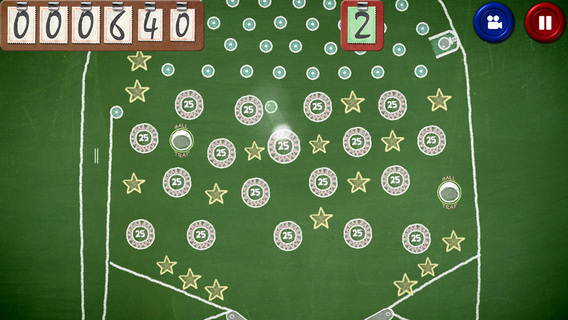 Chalkboard Pinball Creator iPhone iPad