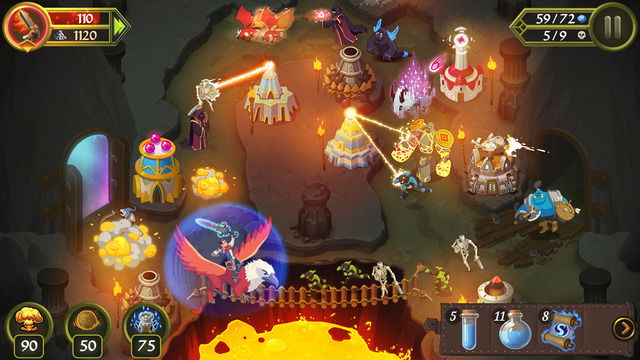 Crystal Siege iPhone iPad