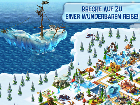 Ice Age: Die Siedlung iOS Screenshots