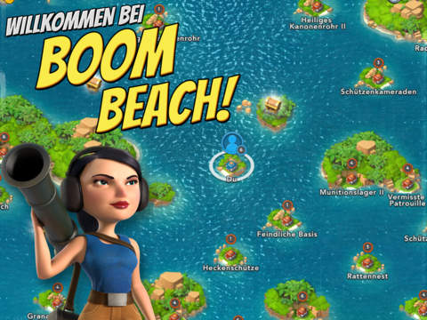 Boom Beach iOS Game