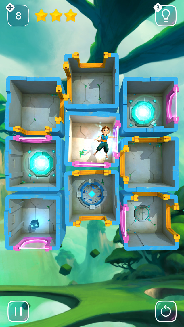 Warp Shift iOS Screenshots