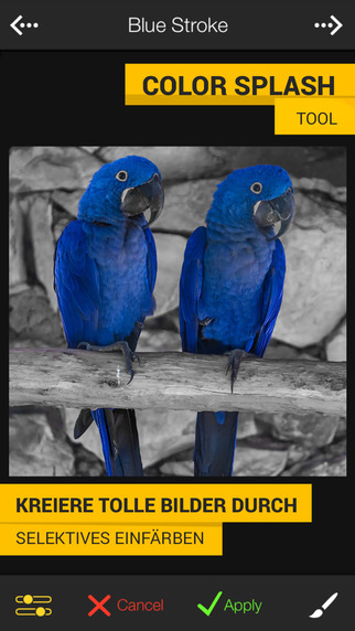 FX Photo Studio - Profi-Effekte & coole Filter, schnelle Kamera & Bildbearbeitung Screenshot