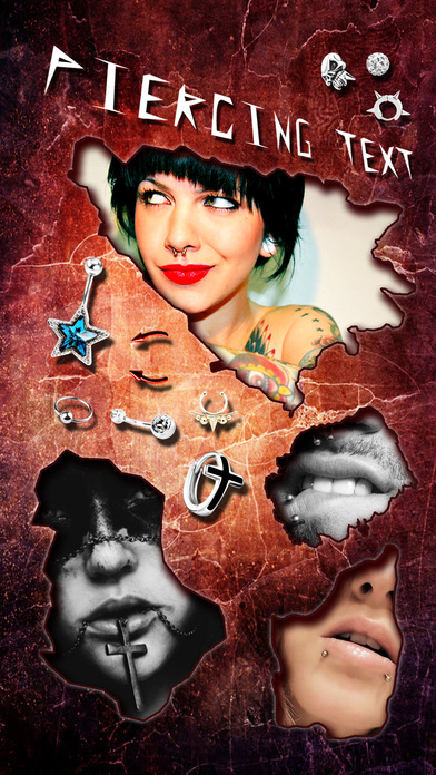 download Piercing & Tattoo Booth FREE - Add Virtual Piercings & Tattoos to make body art inked or pierced apps 3