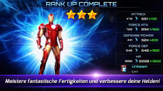MARVEL Future Fight iPhone iPad