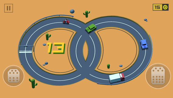 Loop Drive : Crash Race iPhone iPad