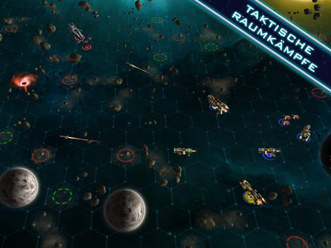 Sid Meier's Starships iOS Screenshots