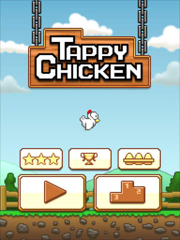 Tappy Chicken iOS Screenshots