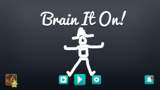 Brain It On! - Physics Puzzles iOS Screenshots
