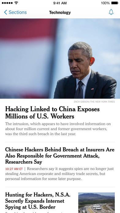NYTimes – Breaking Local, National & World News Screenshot