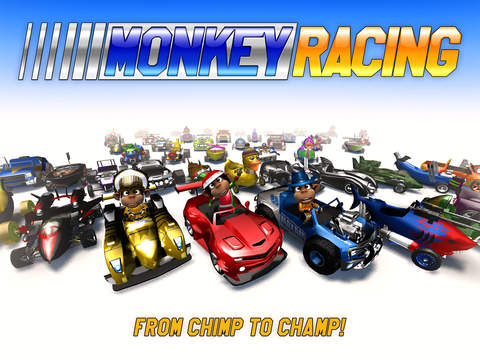 Monkey Racing iOS Screenshots