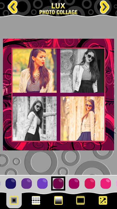 download Luxe Image Collages De Photo - Prenez Belle Cadres Photo libre et de faire vos photos ressemblent magique apps 1