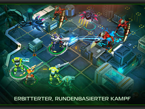 X-Mercs iOS Screenshots