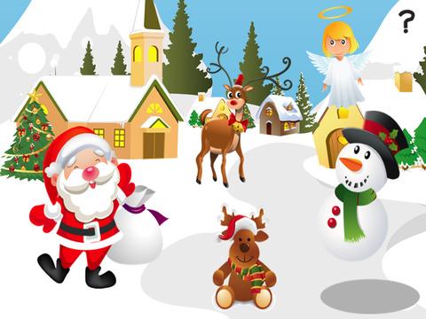 ABC Memoryspel Voor Kinderen - Leren Met Kerstmis en Kerstman Screenshot